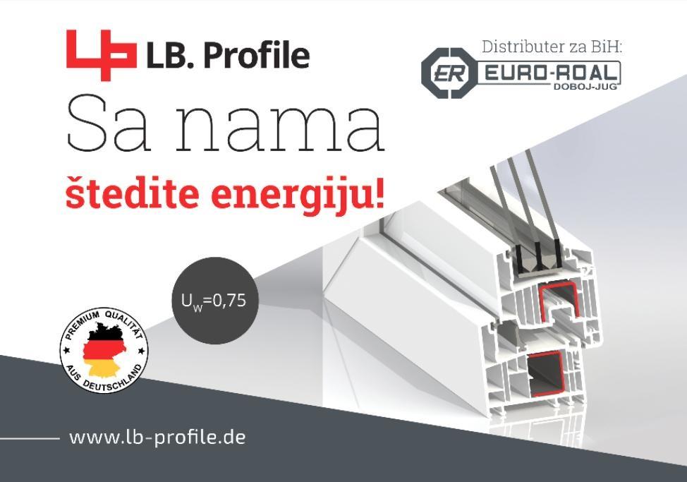 LB.Profile GmbH uvođenjem ISO 50001 dobio status energetske odgovornosti