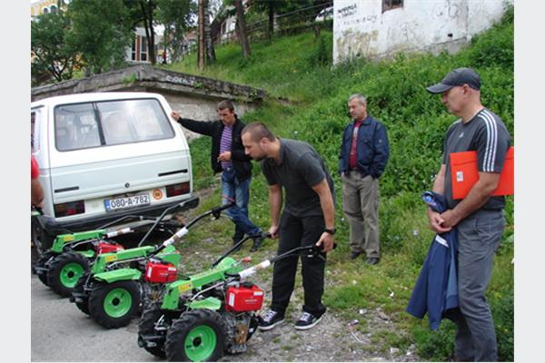 Help projekat - drugi dio isporuke poljoprivredne mehanizacije