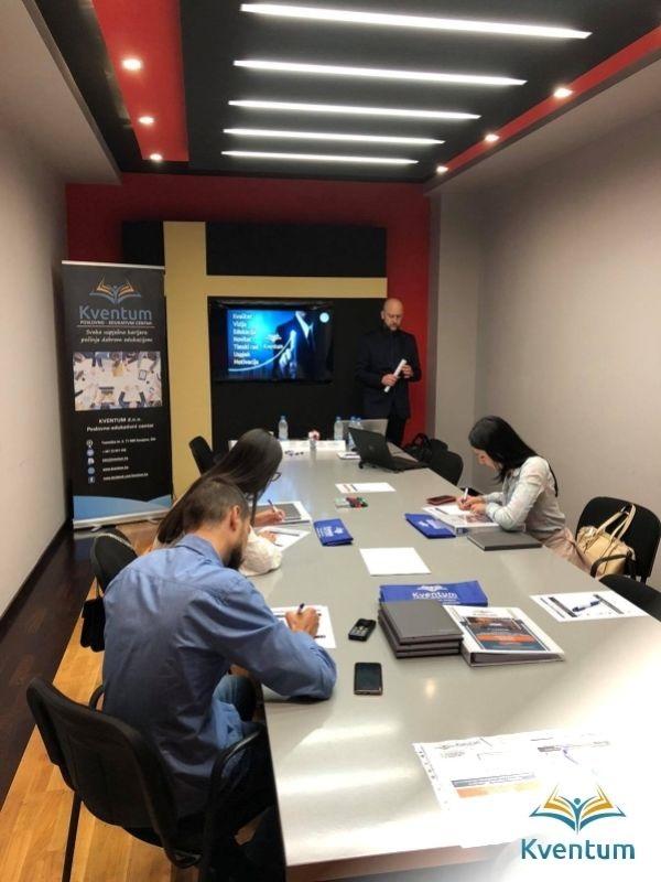 Kventum realizovao interni trening za zaposlenike Hercinvest-a