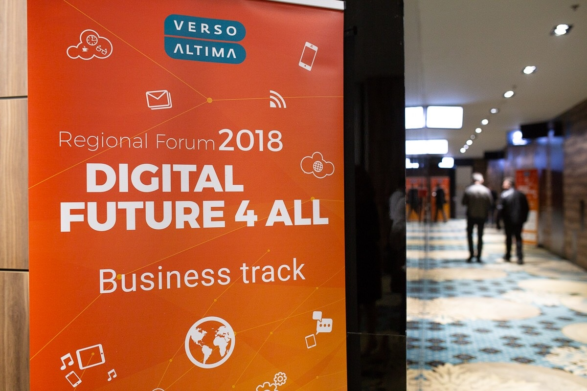 U Sarajevu otvoren prvi Verso Altima Regional Forum 'Digital Future 4All'