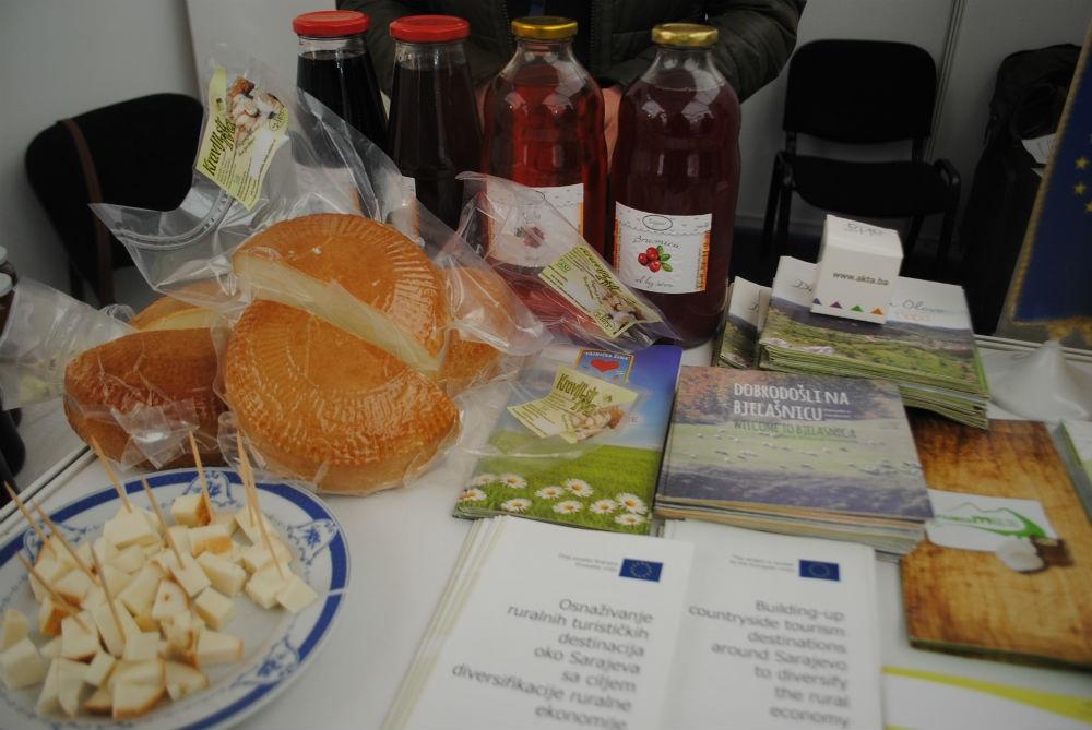 Udruženje 'Alterural' na sajmu 'List' predstavilo ponudu šire okoline Sarajeva