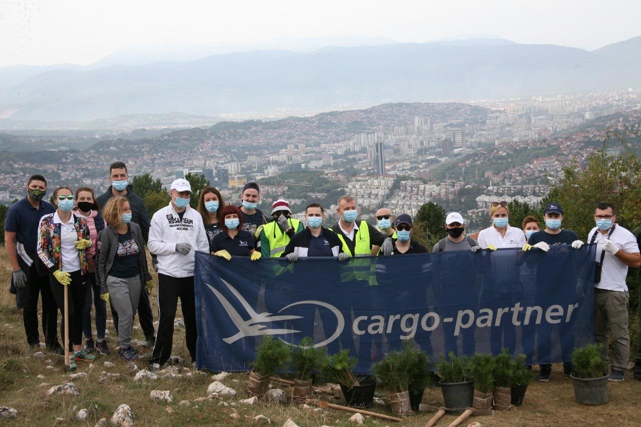 Sarajevo bogatije za 300 novih sadnica
