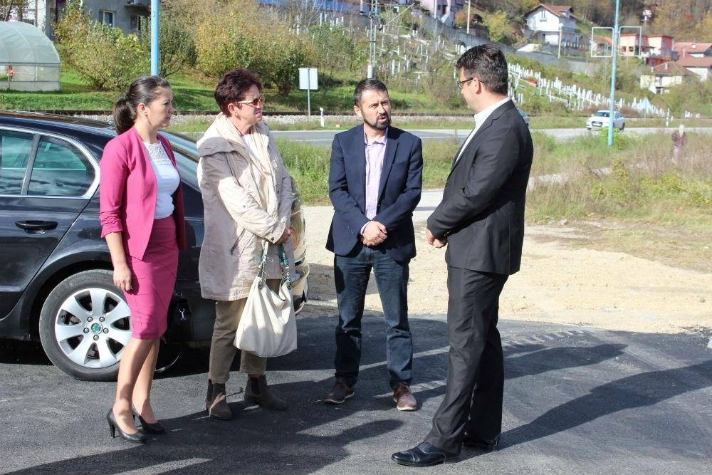 Kroz MEG projekt dovršena izgradnja saobraćajnice u Poslovnoj zoni Pilana