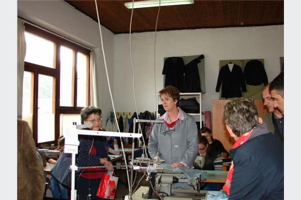 Sporazum o suradnji između SMŠ 'Žepče' i tekstilnih poduzeća