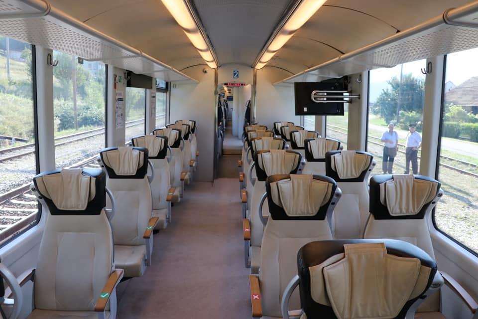 Počeo saobraćati voz od Željezničke stanice do Pazarića