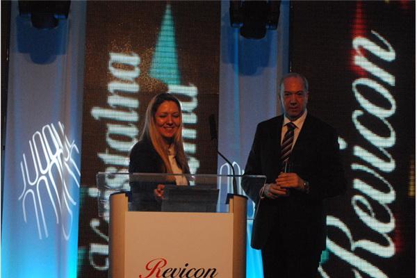 Jelena Misita uručila nagradu za najmenadžera Midhatu Terziću, direktoru Sarajevo osiguranja