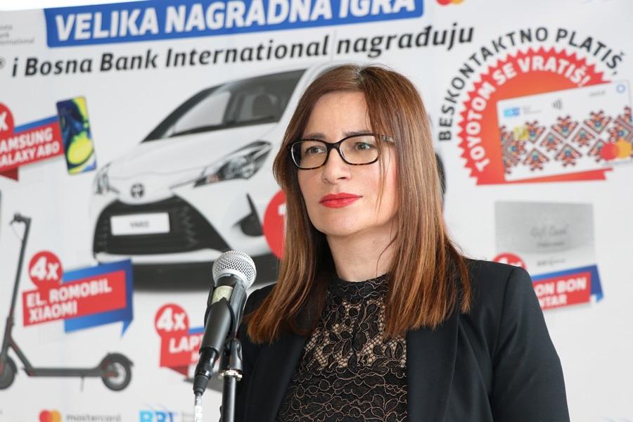 Nagradna igra: Ključevi automobila Toyota Yaris uručeni Hermini Oručević