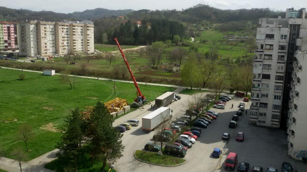 Počinje gradnja stambeno - poslovnog objekta na Sjenjaku u Tuzli