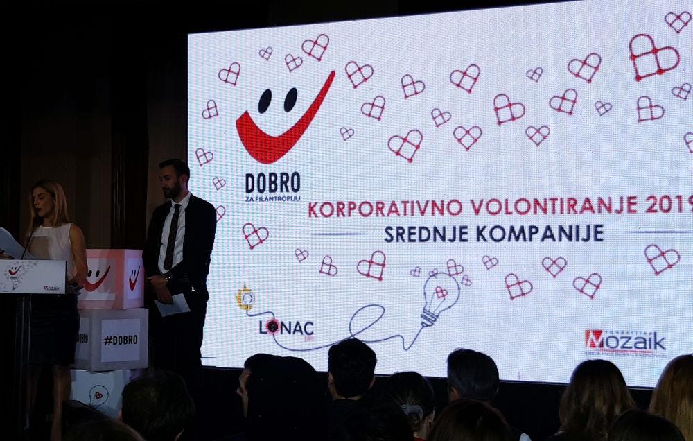 Dodijeljene nagrade DOBRO za filantropiju 2019