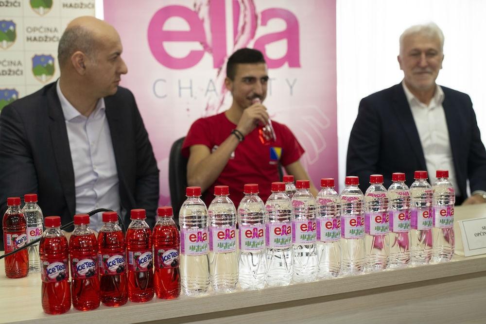 Bh. prirodna izvorska voda 'Ella' sponzor maratonca Alije Imamovića