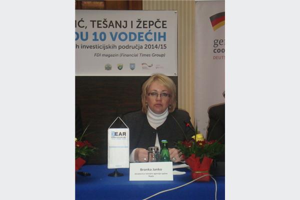 Branka Janko, direktorica Razvojne Agencije Žepče