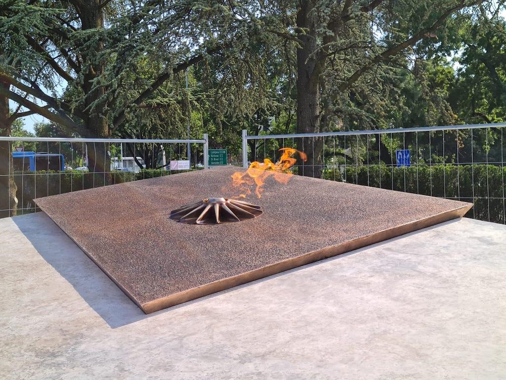Firma GRIZELJ uspješno isporučila Vječni plamen 'Spomenik domovini' u Zagrebu