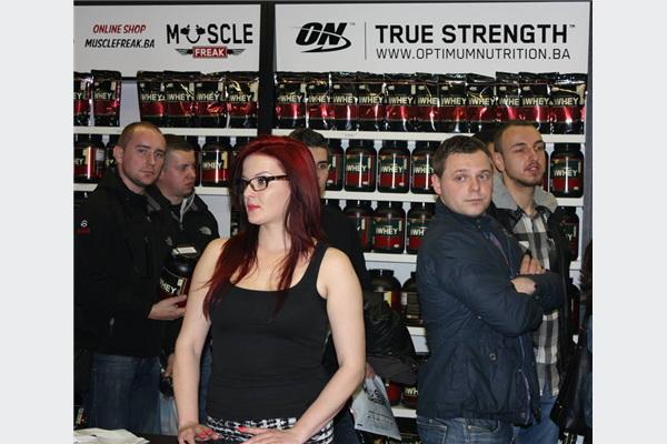 Otvorena nova Muscle Freak poslovnica u Grand Centru Ilidža