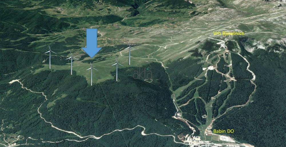 Investitori pokazali interes: Na Bjelašnici će se graditi vjetropark