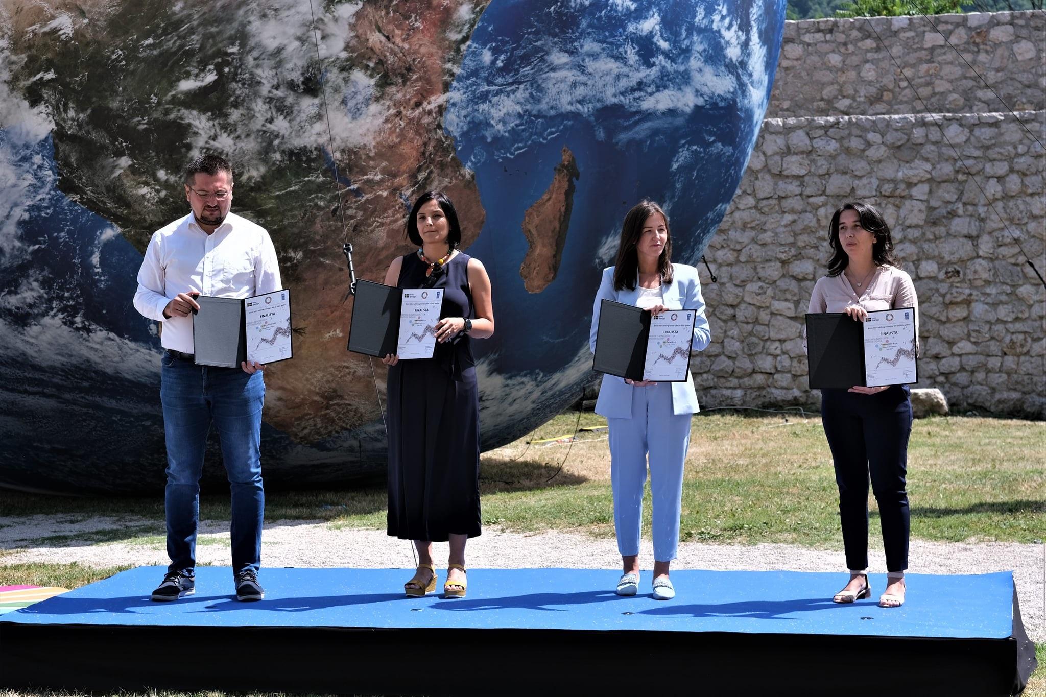 Proglašeni biznis lideri održivog razvoja u BiH za 2021. godinu