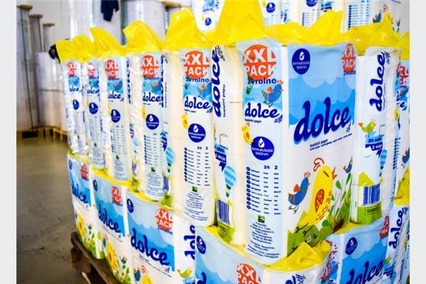Bingo iz vlastite proizvodnje na tržište plasira toaletni papir i maramice