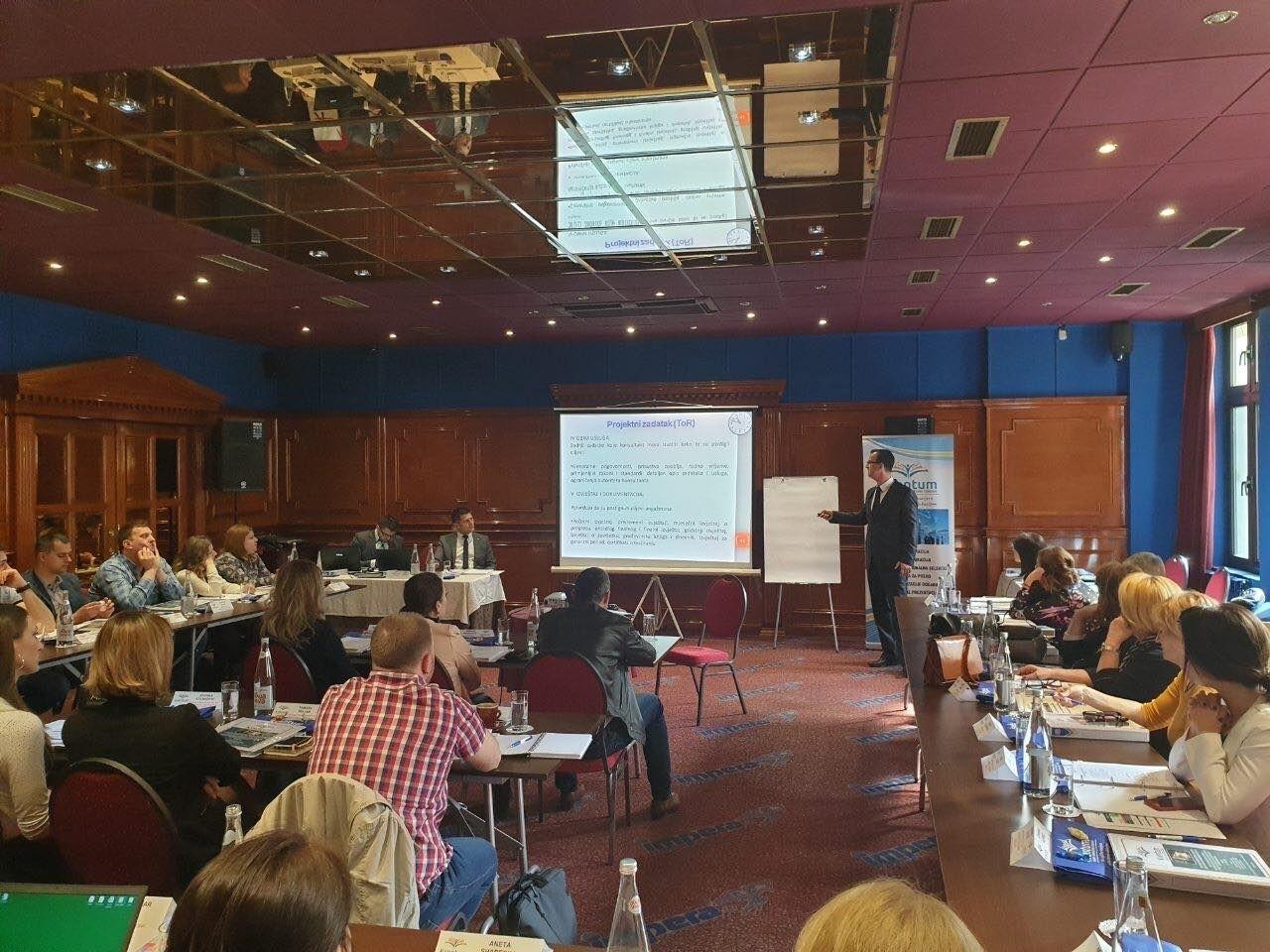 Uspješno realizovan III. regionalni specijalistički seminar EBRD-CEB-WB
