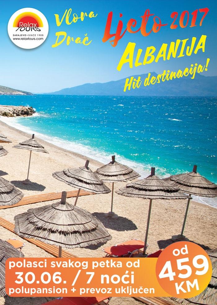 Ljeto u Albaniji sa Relax Toursom!