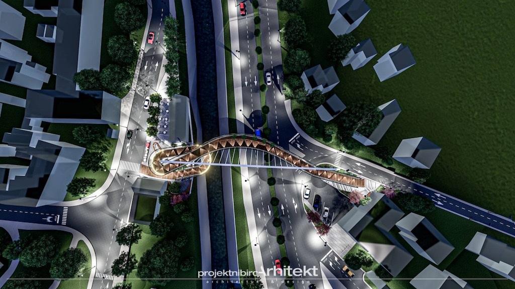 Urađen projekat: Tuzla bi mogla dobiti jedinstven viseći pješački most
