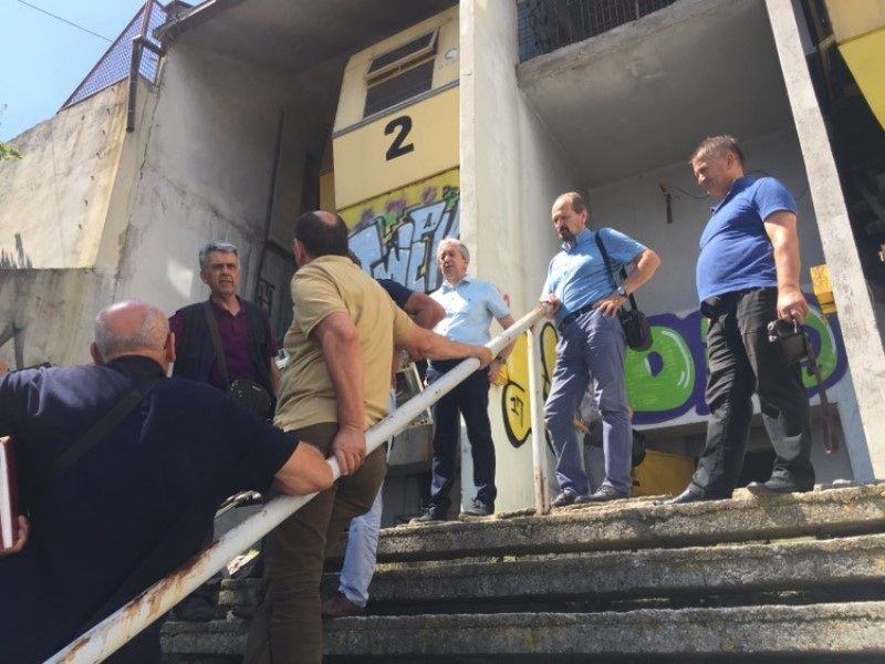 Pripreme za izradu glavnog projekta izgradnje kosog lifta na Ciglanama