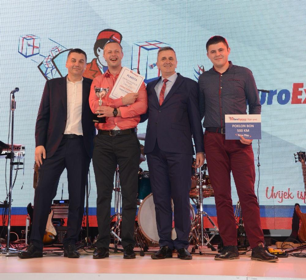 Završena nagradna igra 'EuroExpress avantura' i proglašeni najbolji radnici