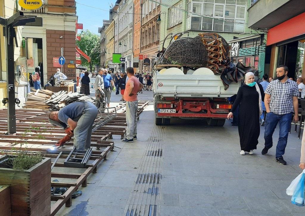 Sarajevski ugostiteljski objekti ponovo otvoreni