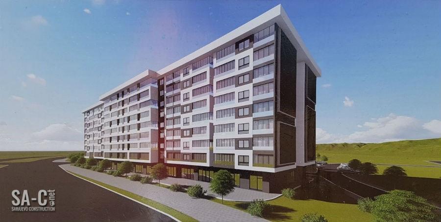 Pogledajte izgled Tibrinog stambeno-poslovnog kompleksa ''Bulevar'' na Stupu