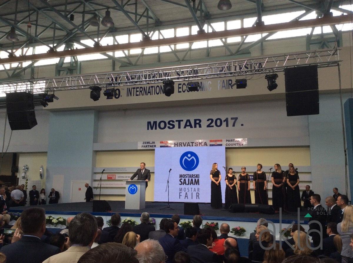 Otvoren sajam u Mostaru: Ove godine 800 izlagača iz 30 zemalja