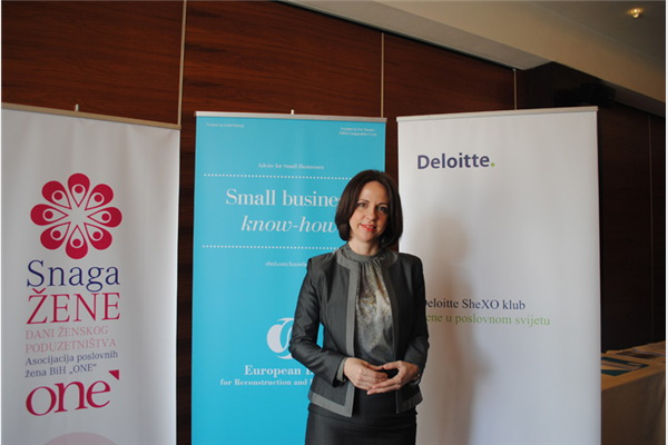 Sabina Softić, voditeljica Deloitte SheXO Club