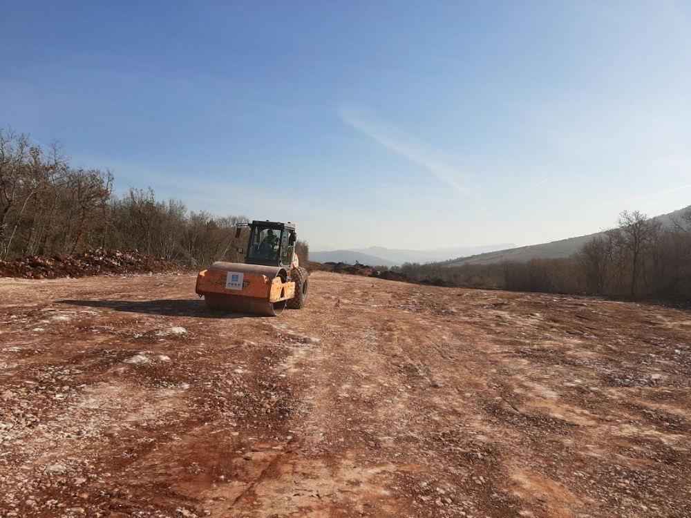 U toku pripremni radovi za izgradnju poddionice Počitelj - Zvirovići