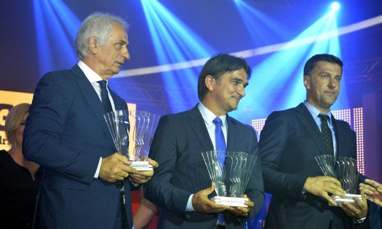 Osobe godine za 2017. nogometni izbornici Dalić, Halihodžić, Petković i Krstajić