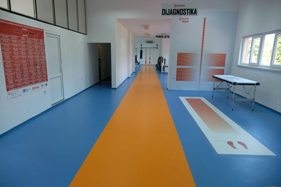 Otvorena prva atletska sala u općini Novi Grad