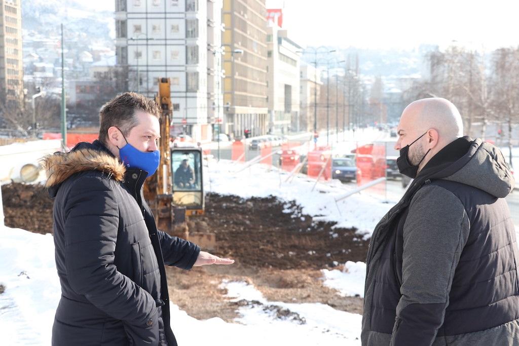 Šteta obišao gradilišta na Prvoj i Devetoj transverzali: Nisam najzadovoljniji