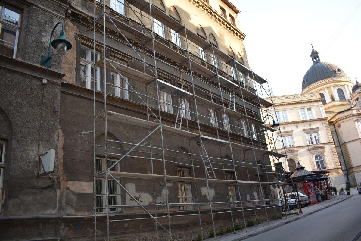 Počela rekonstrukcija zgrade Muzičke akademije u Sarajevu