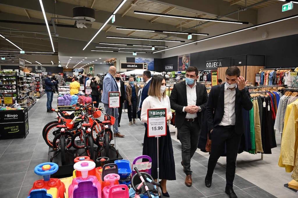 Bingo nastavlja investicije u Semberiji, pedeset novih radnih mjesta u hipermarketu