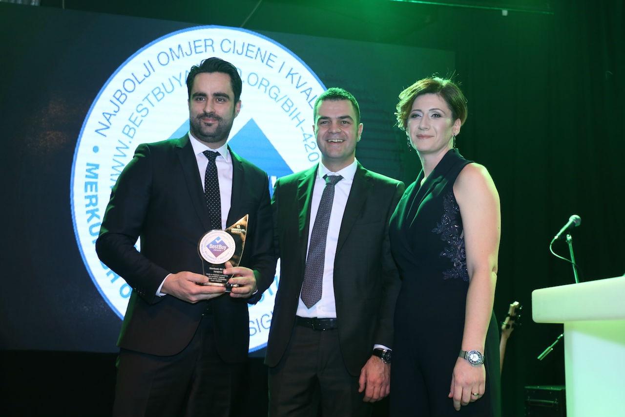 Merkur BH osiguranje dobitnik prestižnog priznanja Best Buy Award