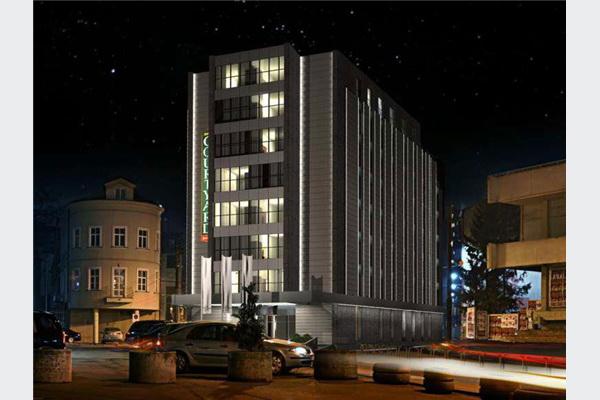 U maju 2015. Marriott otvara prvi brendirani hotel u centru Sarajeva