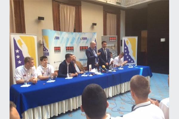 Kompanija Securitas BH sponzor U17 reprezentacije BiH