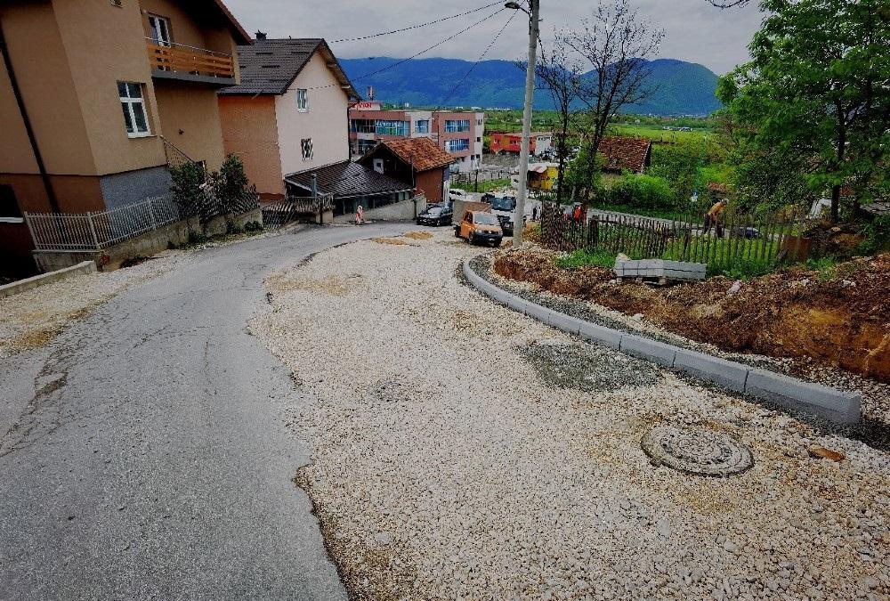 Sokolje: Rekonstrukcija i proširivanje ulaza u ulicu Numan - paše Ćuprilića