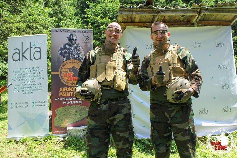 Airsoft turnir 'Rat menadžera' okupio oko 100 učesnika