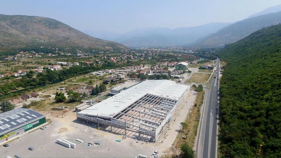 Tržni centar Bingo u Mostaru od oktobra ponovo u funkciji