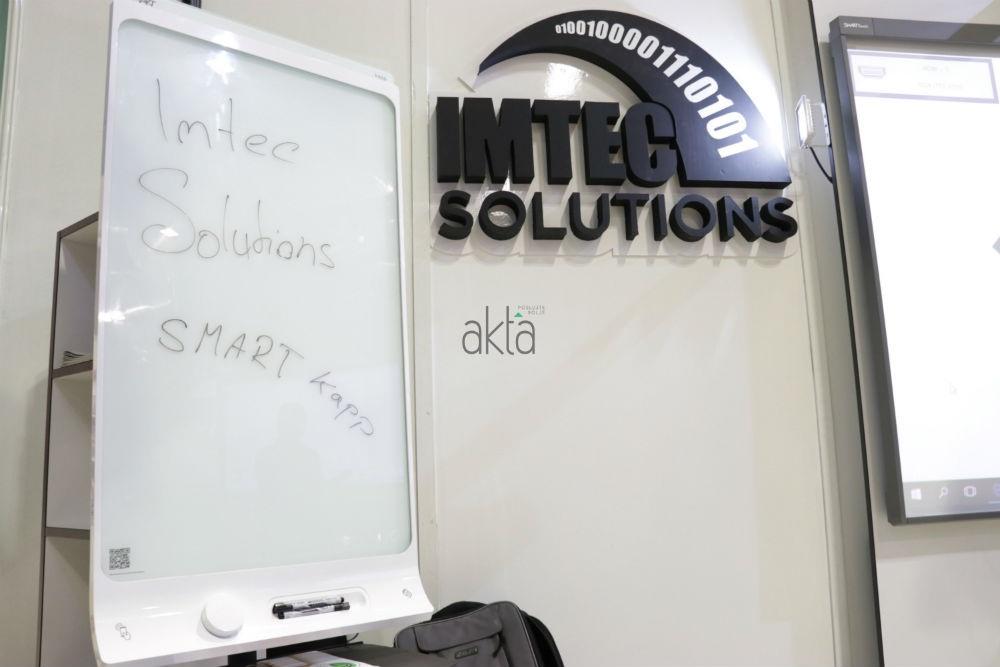 IMTEC predstavio SMART kapp tablu za pisanje