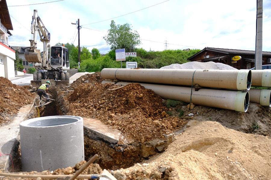 Počela izgradnja separatne kanalizacione mreže u Briješću