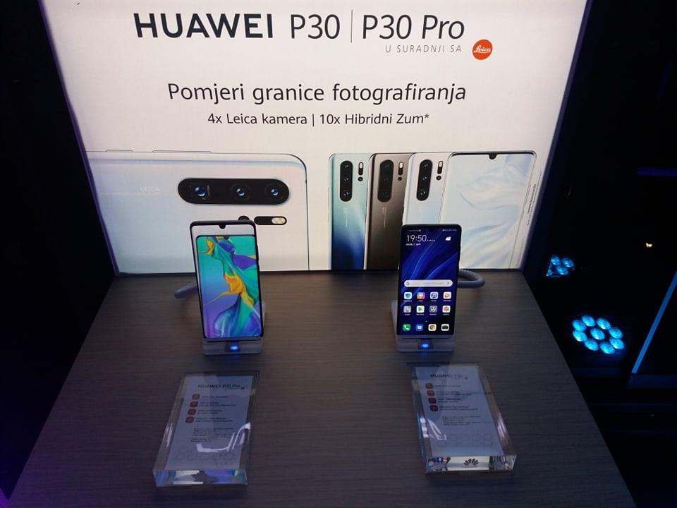 U Sarajevu predstavljeni novi uređaji iz Huawei P30 serije