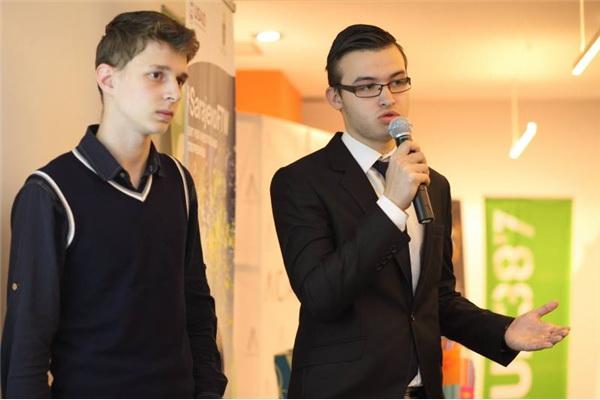 Emin Hodžić i Adnan Mujić nagrađeni za najbolji startup projekt