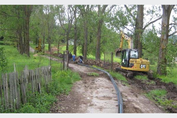 Počeli radovi na sanaciji vodovoda u Sokocu i Knežini