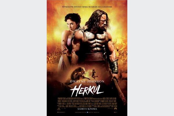 Pretpremijerno epski spektakl Herkul na programu Family Centra Ekran