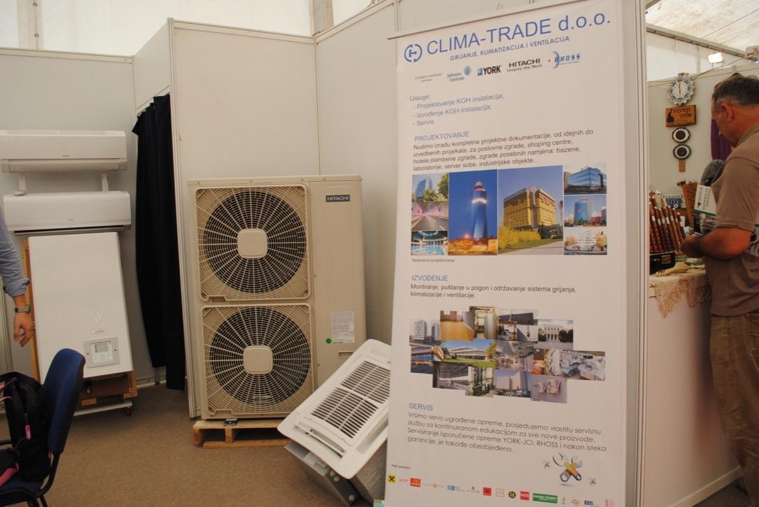 Clima - Trade prvi put izlaže na sajmu u Tešnju