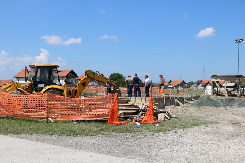 U Stražbenici počela izgradnja objekta za potrebe mjesne zajednice