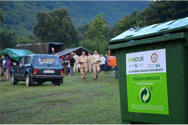 Una regata u znaku odvojenog prikupljanja i reciklaže ambalažnog otpada